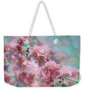 Plum Blossom - Bring On Spring Series Weekender Tote Bag