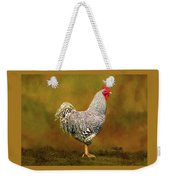 Plymouth Rock Rooster Weekender Tote Bag