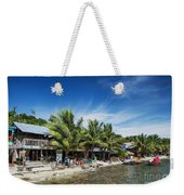 Polluted Dirty Beach With Garbage Rubbish In Koh Rong Island Cam Weekender Tote Bag