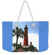 Ponce Lighthouse Weekender Tote Bag