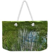 Pond Grasses Weekender Tote Bag