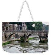 Ponte Sant'angelo Weekender Tote Bag