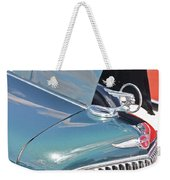 1933 Pontiac Eight Hood Ornament Weekender Tote Bag