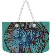 Pop Art - New Tropical Fish Poster Weekender Tote Bag