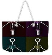 Pop Art Style Corkscrews. Weekender Tote Bag