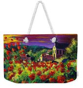 Poppies In Foy Weekender Tote Bag