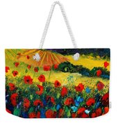 Poppies In Tuscany Weekender Tote Bag