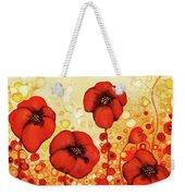 Poppin' Poppies #1 Weekender Tote Bag