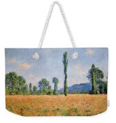 Poppy Field In Giverny  Weekender Tote Bag