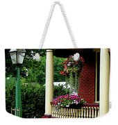 Porch With Hanging Plants Weekender Tote Bag