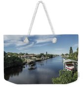 Port Charlotte Ackerman Waterway From Ohara Weekender Tote Bag