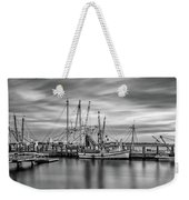 Port Royal Shrimp Boats Weekender Tote Bag