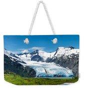 Portage Glacier Weekender Tote Bag