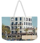 Portixol Marina Moored Boats Weekender Tote Bag