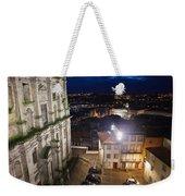 Porto By Night In Portugal Weekender Tote Bag