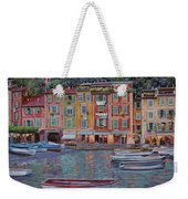 Portofino Al Crepuscolo Weekender Tote Bag