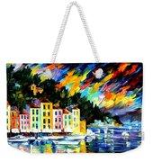 Portofino Harbor - Italy Weekender Tote Bag