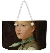 Portrait Of A Girl Weekender Tote Bag