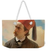 Portrait Of A Scholar Weekender Tote Bag