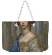 Portrait Of A Woman As Saint Agnes Weekender Tote Bag