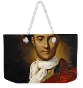 Portrait Of A Young Nobleman Weekender Tote Bag