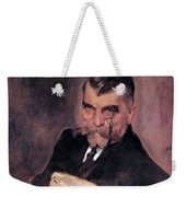 Portrait Of Aa Stahovich 1911 Valentin Serov Weekender Tote Bag