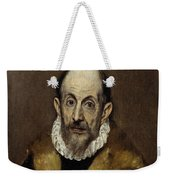 Portrait Of An Old Man Weekender Tote Bag