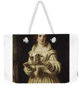 Portrait Of Anne Page Weekender Tote Bag