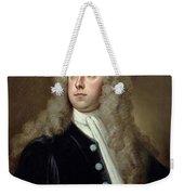 Portrait Of Francis 2nd Earl Of Godolphin 1678-1766 Sir Godfrey Kneller Weekender Tote Bag
