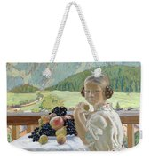 Portrait Of Irina Kustodieva Weekender Tote Bag