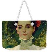 Portrait Of Maggie Wilson Weekender Tote Bag