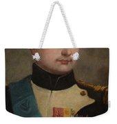 Portrait Of Napoleon Buonaparte Weekender Tote Bag