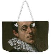Portrait Of Painter Josef Heintz Weekender Tote Bag