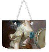 Portrait Une Danseuse Au Tambourin Lisabeth Louise Vige Le Brun Weekender Tote Bag