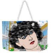 Portrait With Adonit Pixel. Weekender Tote Bag