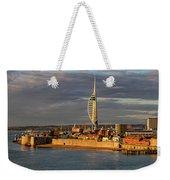 Portsmouth Harbour England  Weekender Tote Bag