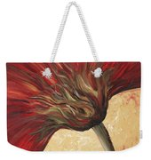 Power Of Red Weekender Tote Bag