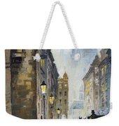 Prague Old Street 01 Weekender Tote Bag