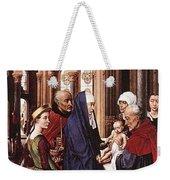 Presentation Of Christ Wga Rogier Van Der Weyden Weekender Tote Bag
