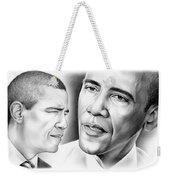 President Barack Obama Weekender Tote Bag