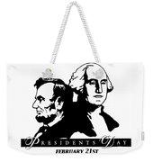 President's Day Weekender Tote Bag