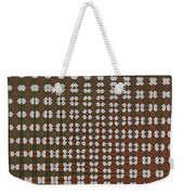Prickly Poppy Abstract Weekender Tote Bag