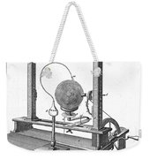 Priestleys Electrostatic Machine, 1775 Weekender Tote Bag