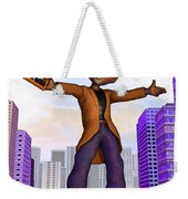 Prince Of The City Weekender Tote Bag