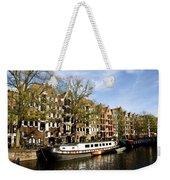 Prinsengracht Weekender Tote Bag by Fabrizio Troiani
