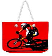 Pro Cycling Weekender Tote Bag
