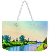 Provence Canal Weekender Tote Bag