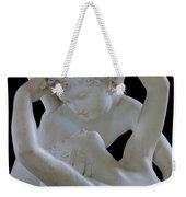 Psyche Revived By The Kiss Of Cupid Weekender Tote Bag by Antonio Canova