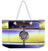 Psychedelic Shelby Ford Mustang Trunk Lid And Badge 4 Weekender Tote Bag