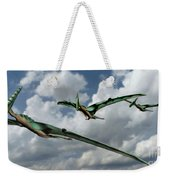 Pterodactyls In Flight Weekender Tote Bag